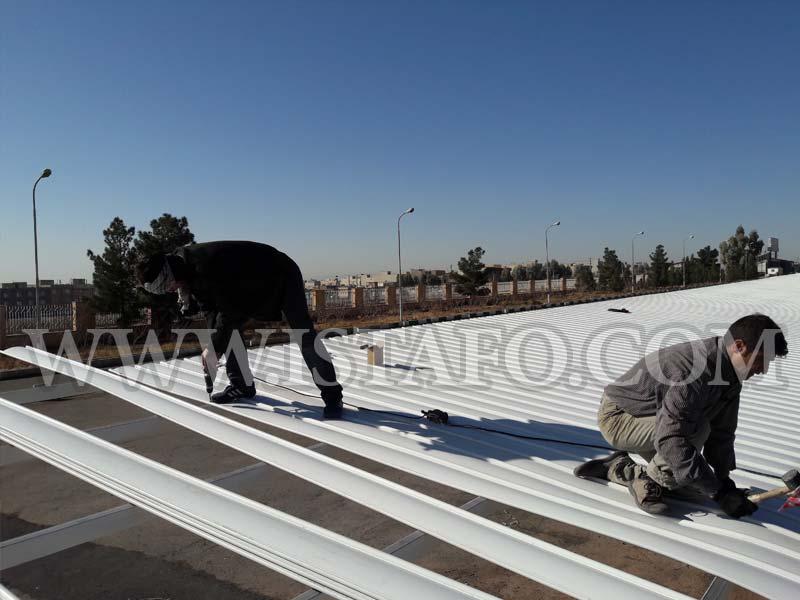 نصب پوشش سقف