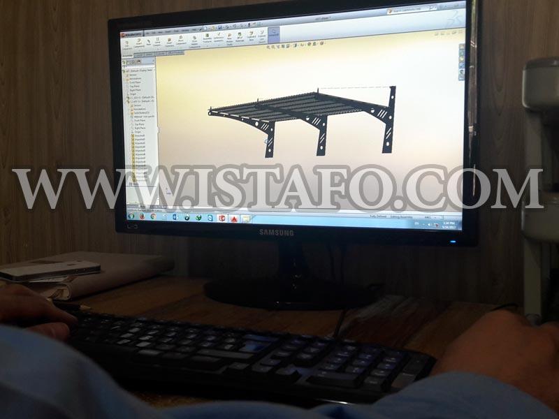 طراحی سازه فلزی صنعتی